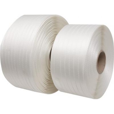 Feuillard textile tissé chaîne et trame
