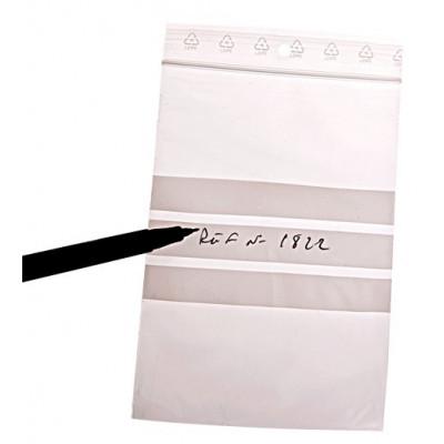 Sachet flexi pression standard avec bandes de marquage