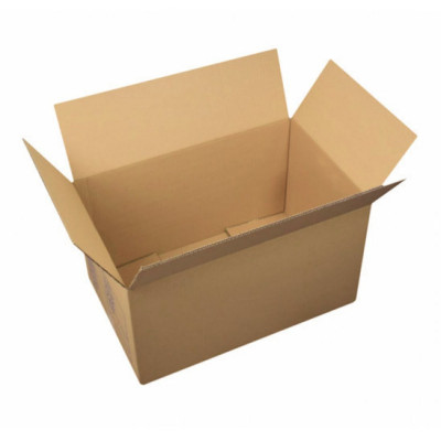 Caisse carton simple cannelure