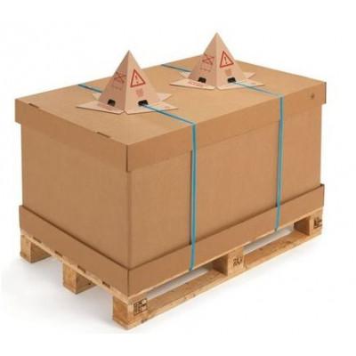 Cône anti-gerbage en carton