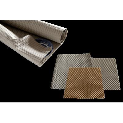 Papier gaufré éco-responsable recyclable