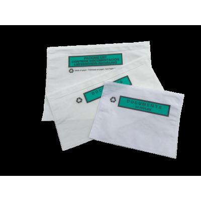 Pochette porte-documents recyclable