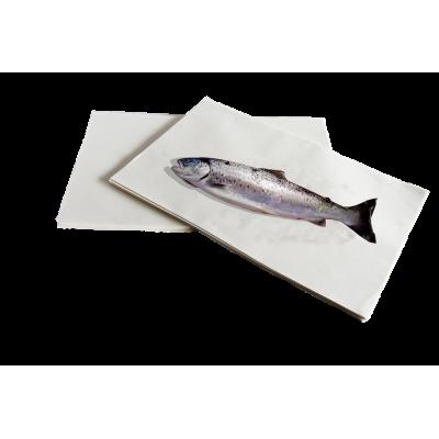 Papier ingraissable spécial poisson