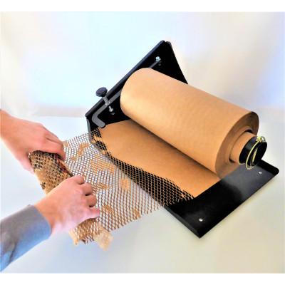 Dévidoir pour papier nid d'abeilles
