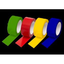 ROULEAU ADHESIF PVC COULEUR 50MMX100M