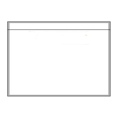 Pochette porte-documents adhésive neutre