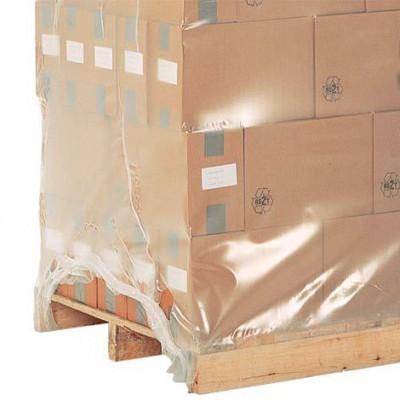 Housse plastique rétractable pour palette